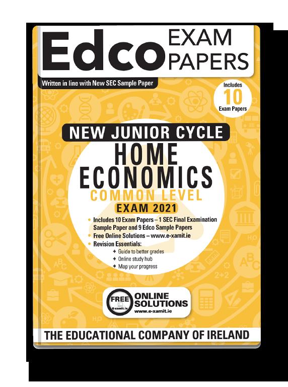 jc home ec common level